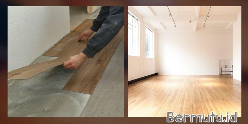 tipe lantai kayu indoor - lantai vinyl