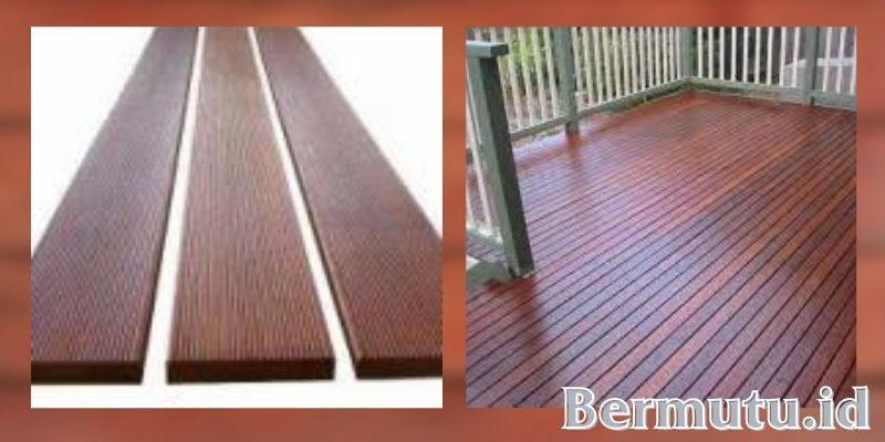 manfaat kayu rengas - lantai kayu outdoor