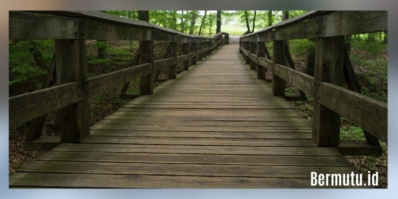 manfaat kayu kempas - pembuatan jembatan