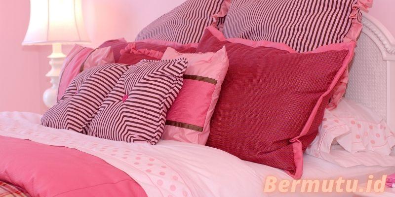Cara Membuat Dekorasi Kamar Tidur Untuk Anak Gadis Remaja - menambahkan warna pink