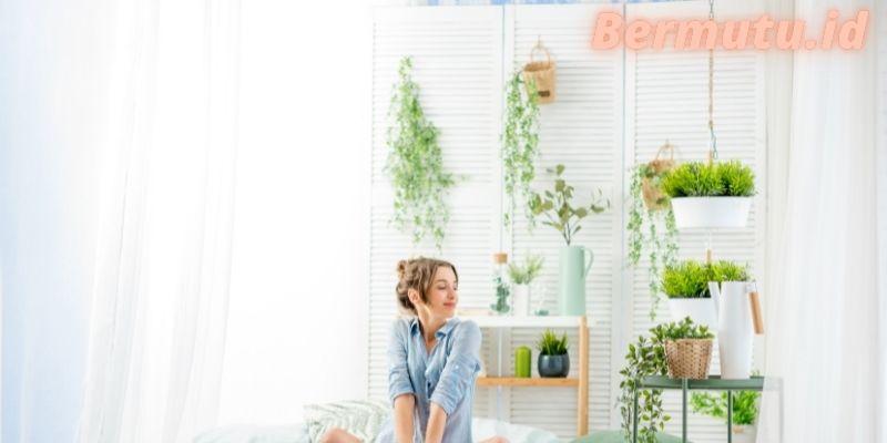 Cara Membuat Dekorasi Kamar Tidur Untuk Anak Gadis Remaja - menambahkan tanaman hias