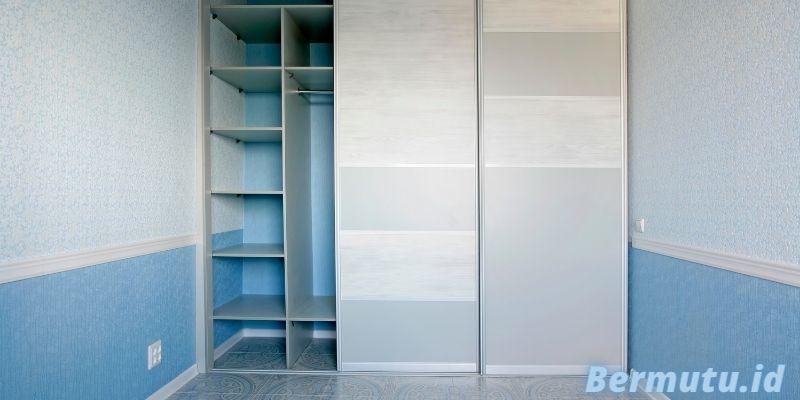 Jenis Furniture Terbaik Untuk Rumah Modern Minimalis - lemari pakaian dua pintu