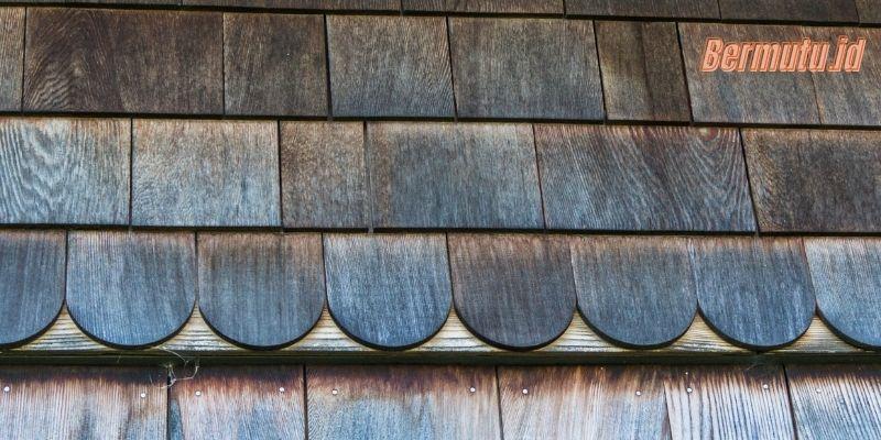 Jenis-jenis Genteng dan Spesifikasinya- genteng sirap kayu