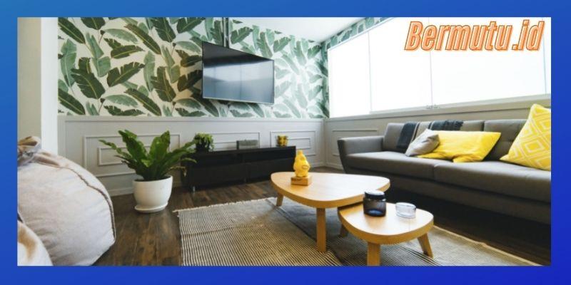 Tips Mudah Mendekorasi Ruang TV Minimalis Modern - bermain dengan variasi elemen interior