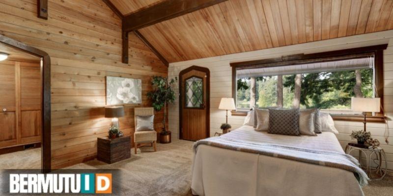 keunggulan plafon kayu - menghadirkan tampilan yang mewah dan elegan