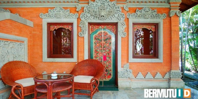 Desain Teras Rumah Bali yang Sederhana Namun Berkesan