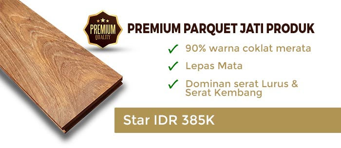 Parket kayu Premium