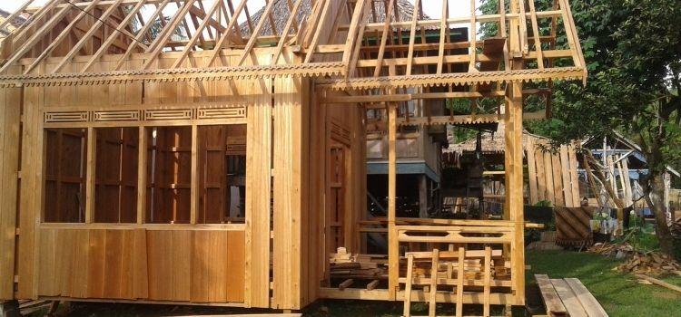 kayu keruing sebagai bahan konstruksi rumah