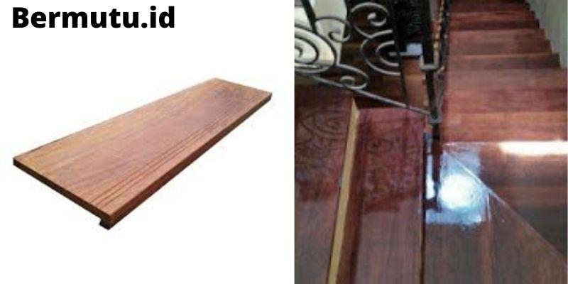 papan tangga kayu merbau
