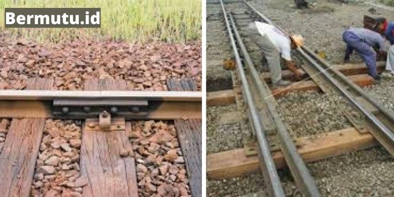 kayu bengkirai untuk bantalan rel kereta