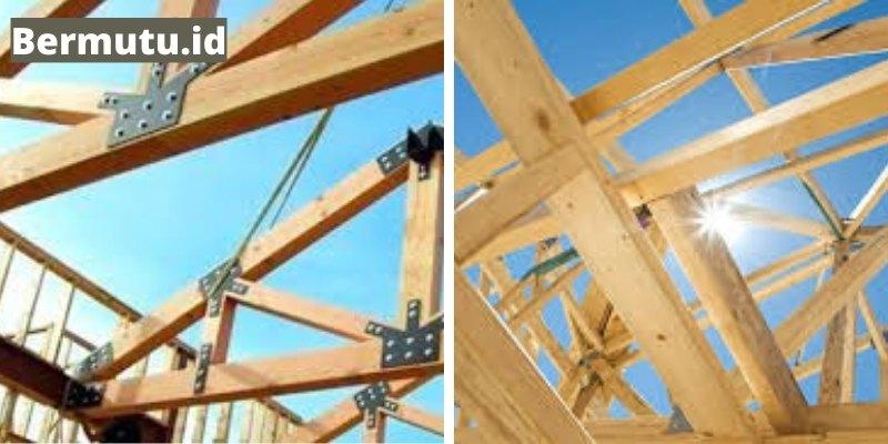 pembuatan atap rumah