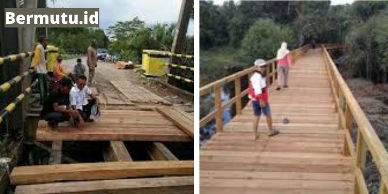 jembatan kayu bengkirai