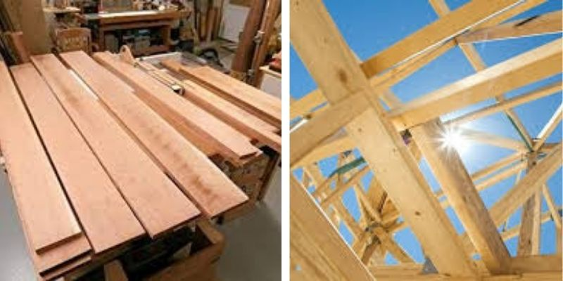 papan kayu kaso