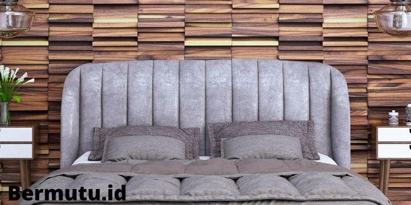 dinding kayu solid