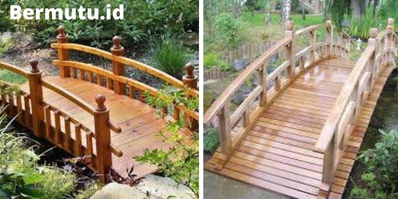 jembatan kayu merbau