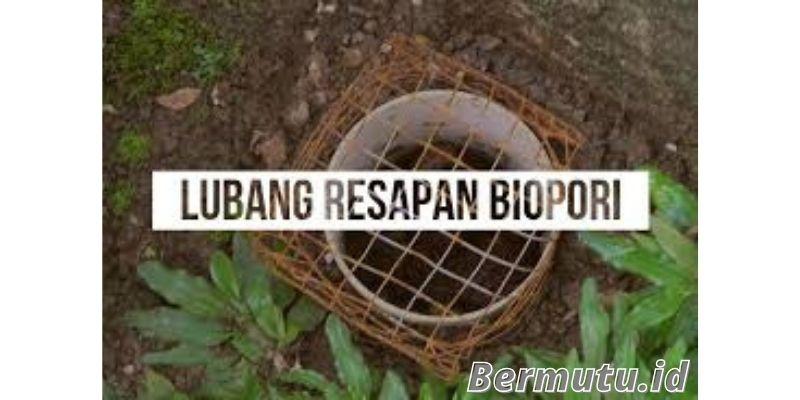 manfaat dan cara membuat lubang biopori