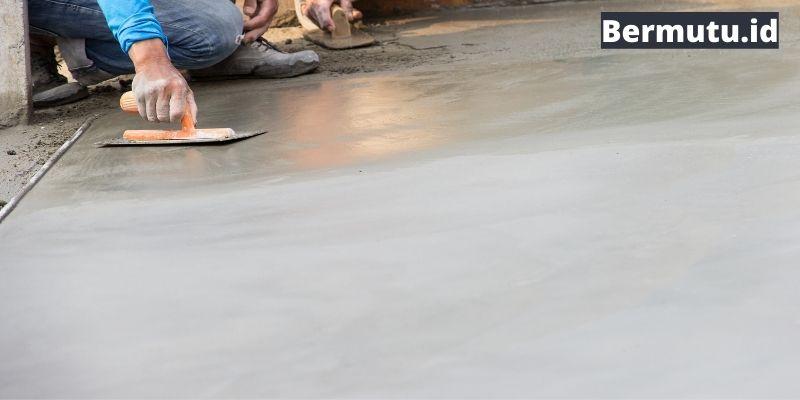 lantai plester