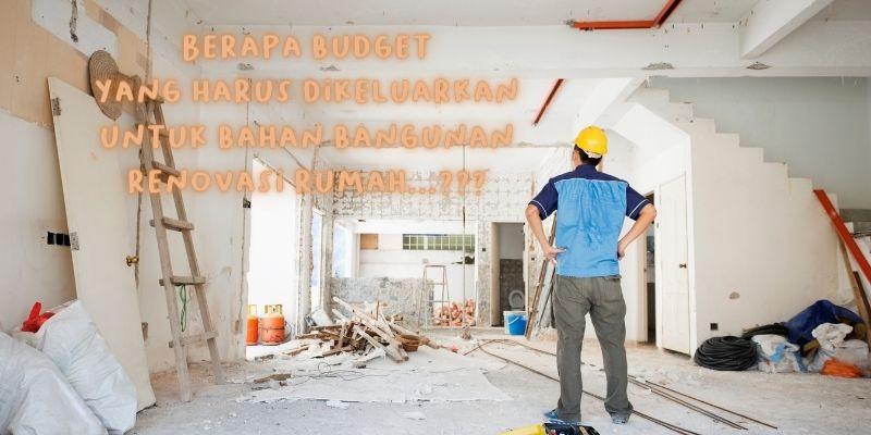 cara menghitung bahan bangunan renovasi rumah