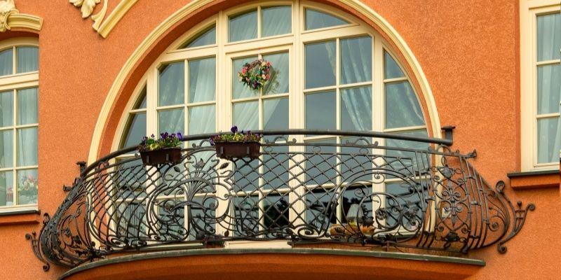 desain pagar balkon