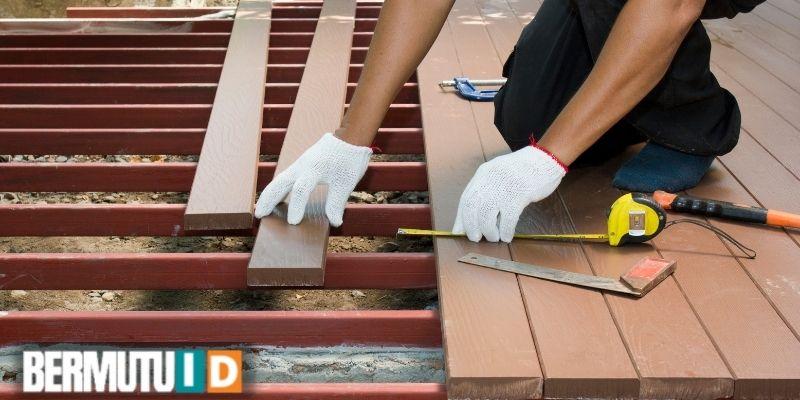 jenis lantai kayu sintetis terbaik - decking wpc