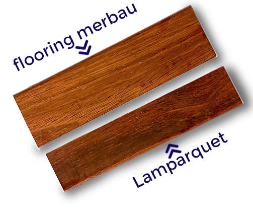 Lamparquet Merbau