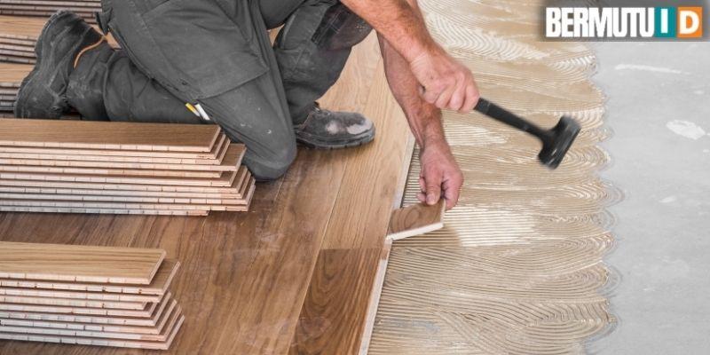 7 cara mudah membuat rumah yang sehat untuk keluarga - menggunakan lantai kayu