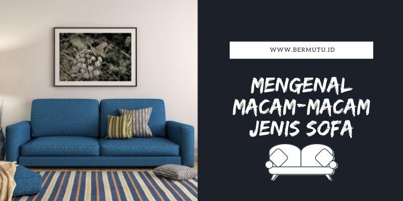 Mengenal Macam-macam Jenis Sofa