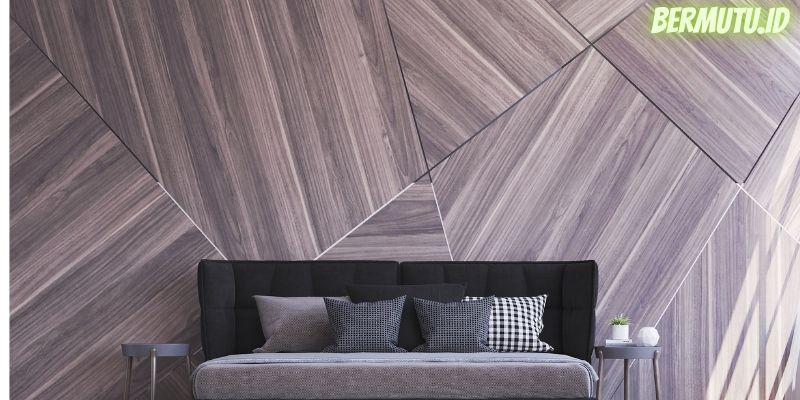 7 Desain Dinding Kayu Terpopuler - bermain dengan dimensi