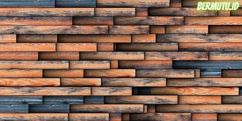 7 Desain Dinding Kayu Terpopuler - dinding kayu yang multiwarna